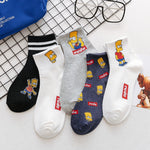 Pack of Simpson Family Socks - Geek Zones