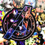 Marvel Super Hero Avengers Stickers - Geek Zones