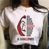 La Casa De Papel Women's T-Shirt - Geek Zones