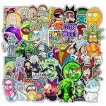 Rick & Morty Cartoon Stickers - Geek Zones