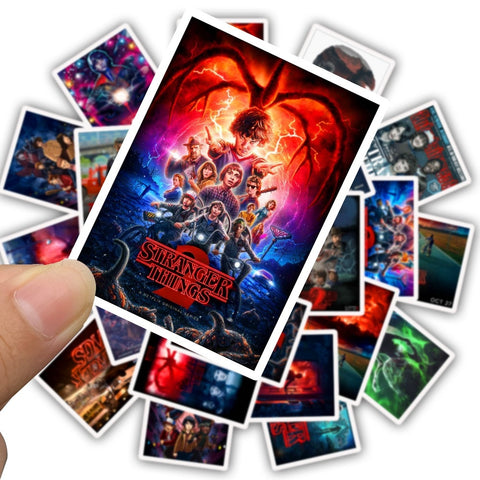 Stranger Things Stickers - Geek Zones