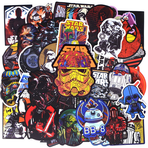 Star Wars Cool Stickers - Geek Zones