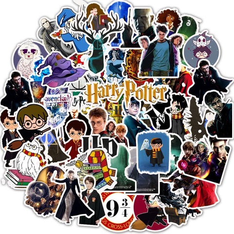 Harry Potter Stickers - Geek Zones