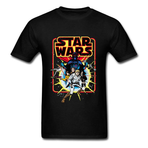 Star Wars Retro Explosion T-Shirt - Geek Zones