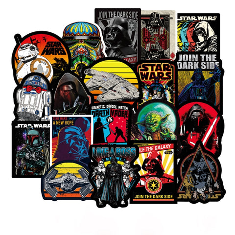 Star Wars Graffiti Stickers - Geek Zones