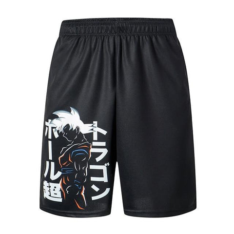 DRAGONBALL TRAINER SHORTS - Geek Zones