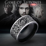 Game of Thrones Four Families Ring - Geek Zones