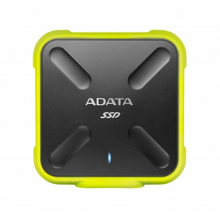 Load image into Gallery viewer, 1TB AData SD700 External SSD - USB3.1 - Black/Yellow