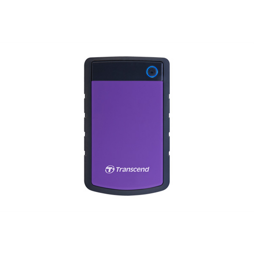 4TB Transcend StoreJet 25H3 2.5-inch USB3.0 Portable Hard Drive - Purple