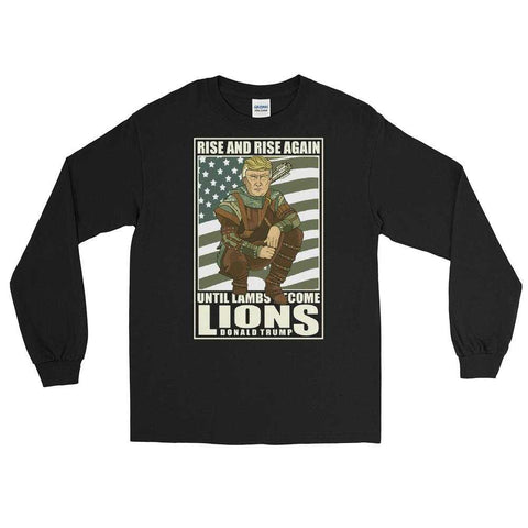 The Robin Hood Trump Long Sleeve Shirt