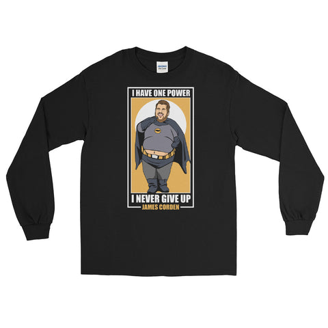 James Corden Batman Premium Long Sleeve Shirt