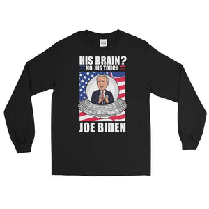 Joe Biden Is A Smooth Alien Long Sleeve Shirt