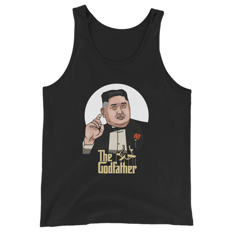 Godfather Jong Un Premium Tank Top