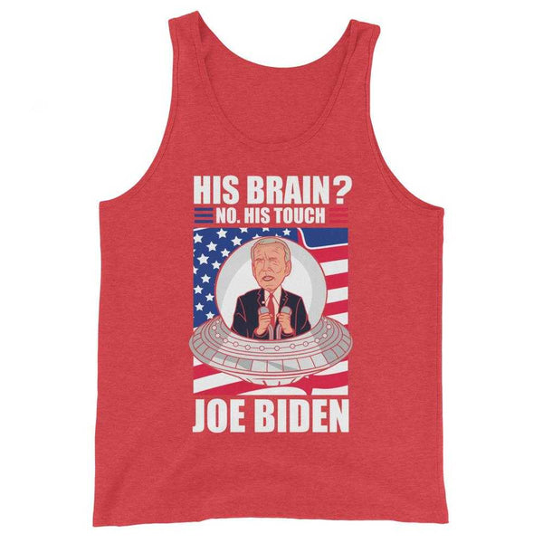 Joe Biden Is A Smooth Alien Tank Top