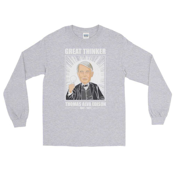 Thomas Thinker Edison Premium Long Sleeve Shirt