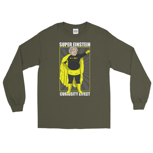 Super Einstein Premium Long Sleeve Shirt