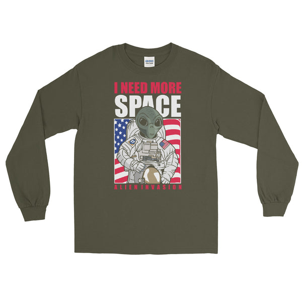 Invasion American Alien Long Sleeve Shirt