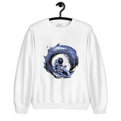 Surfing In Space Sweatshirt