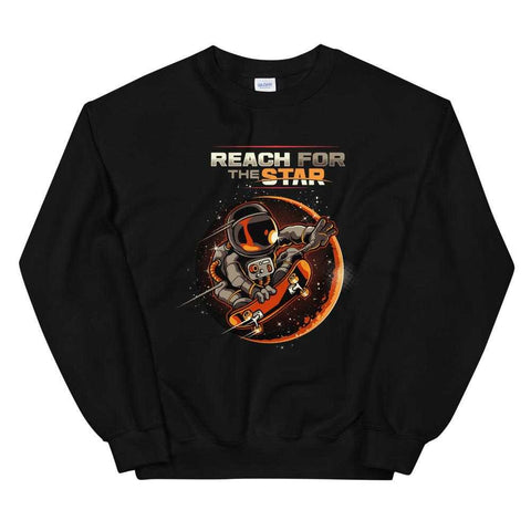 Astronaut Galaxy Skating Sweatshirt