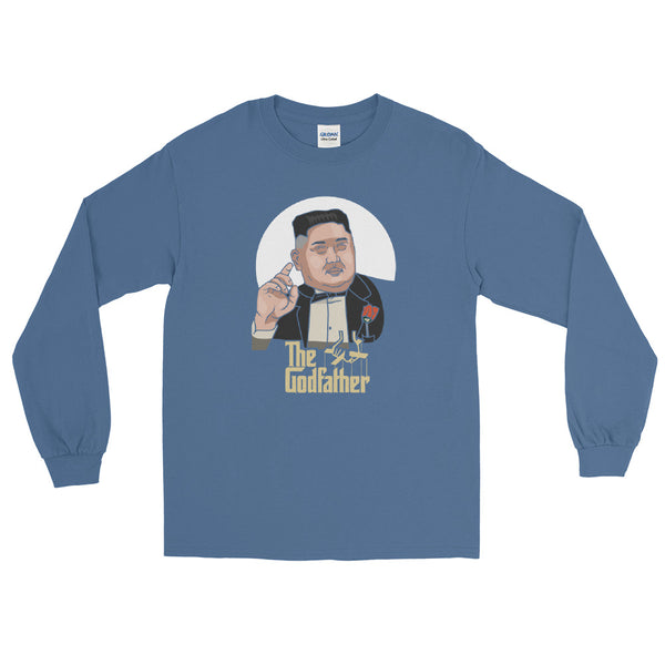 Godfather Jong Un Premium Long Sleeve Shirt