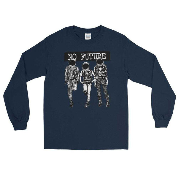 No Future Astronauts Long Sleeve Shirt