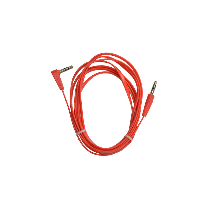 CX-6FT-FLAT3.5-RD | Stereo Sound Cable
