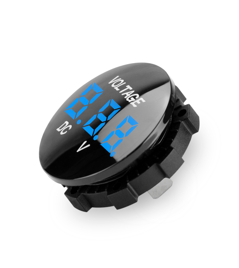 VOLTM1-BLUE | Waterproof Digital Voltmeter