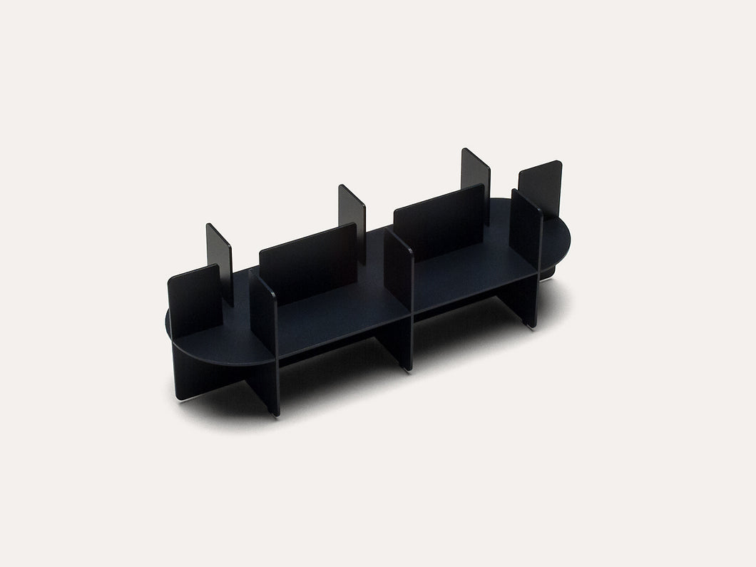 Fin Candle Holder - Triple
