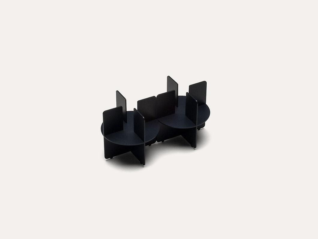 Fin Candle Holder - Single Set