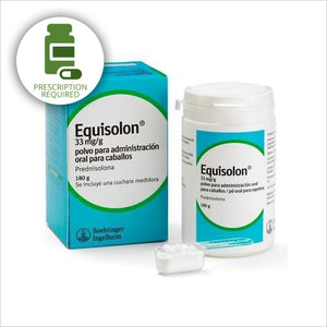 EQUISOLON 33 MG/G ORAL POWDER FOR HORSES