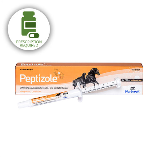 PEPTIZOLE 370 MG/G ORAL PASTE FOR HORSES