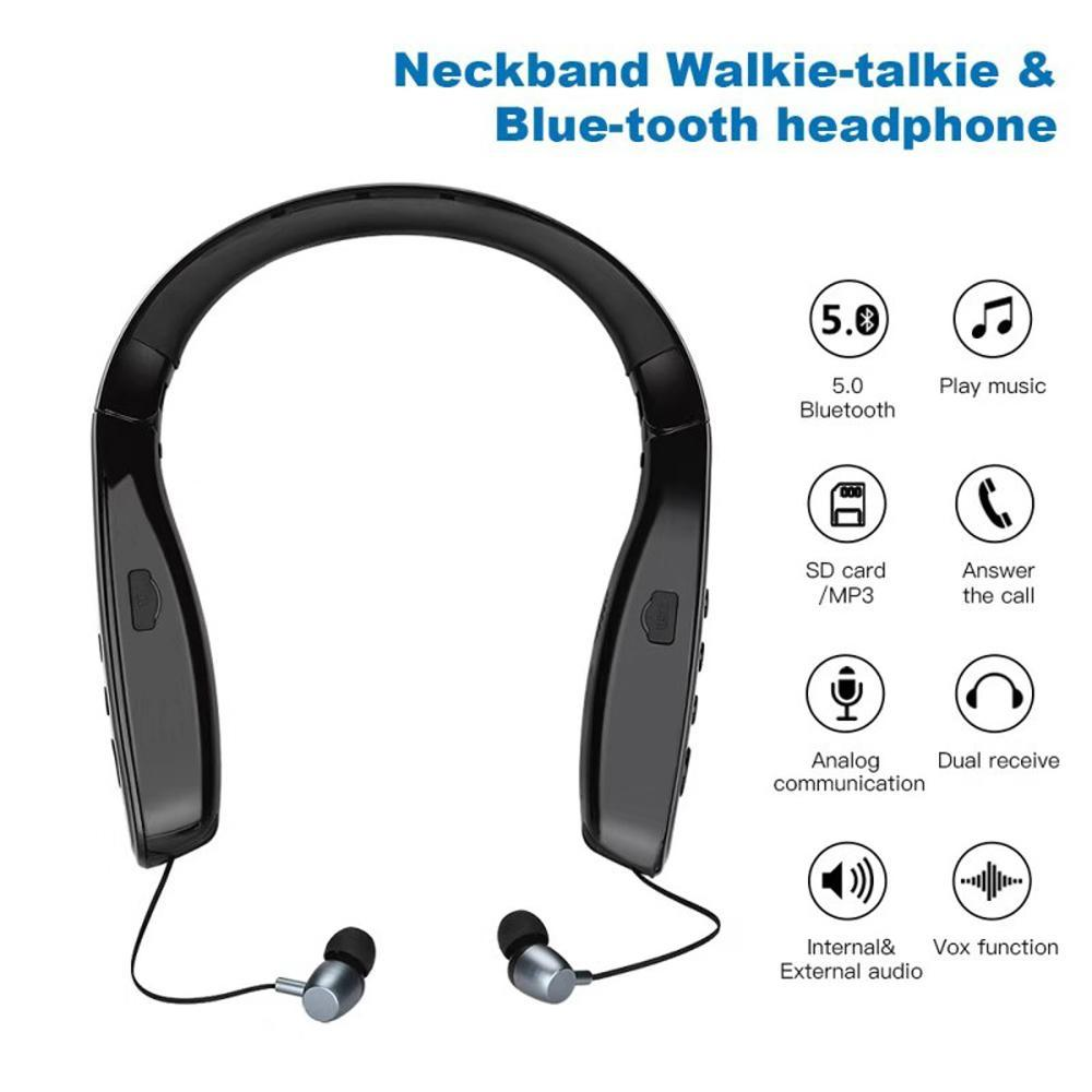 Bluetooth headset for two way radio & phone