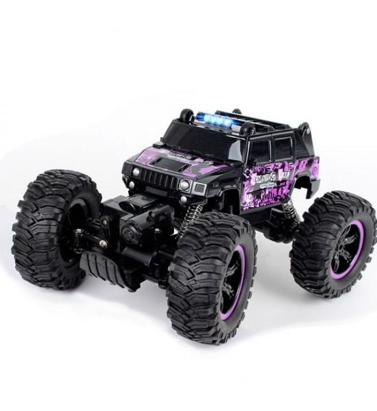 Remote Control crawler Hummer H2 Purple 1:14 2.4 GHz - Little Angel
