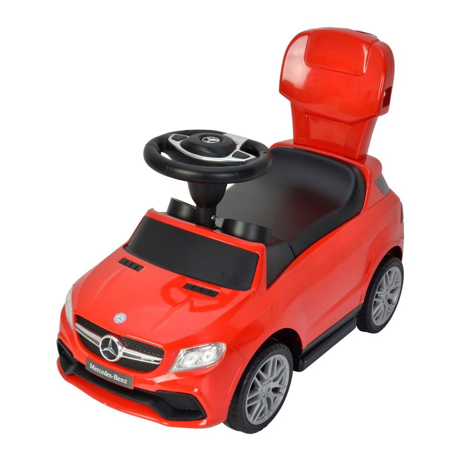 Little Angel - Mercedes-AMG GLE 63 - 3 In 1 Activity Ride-On - White