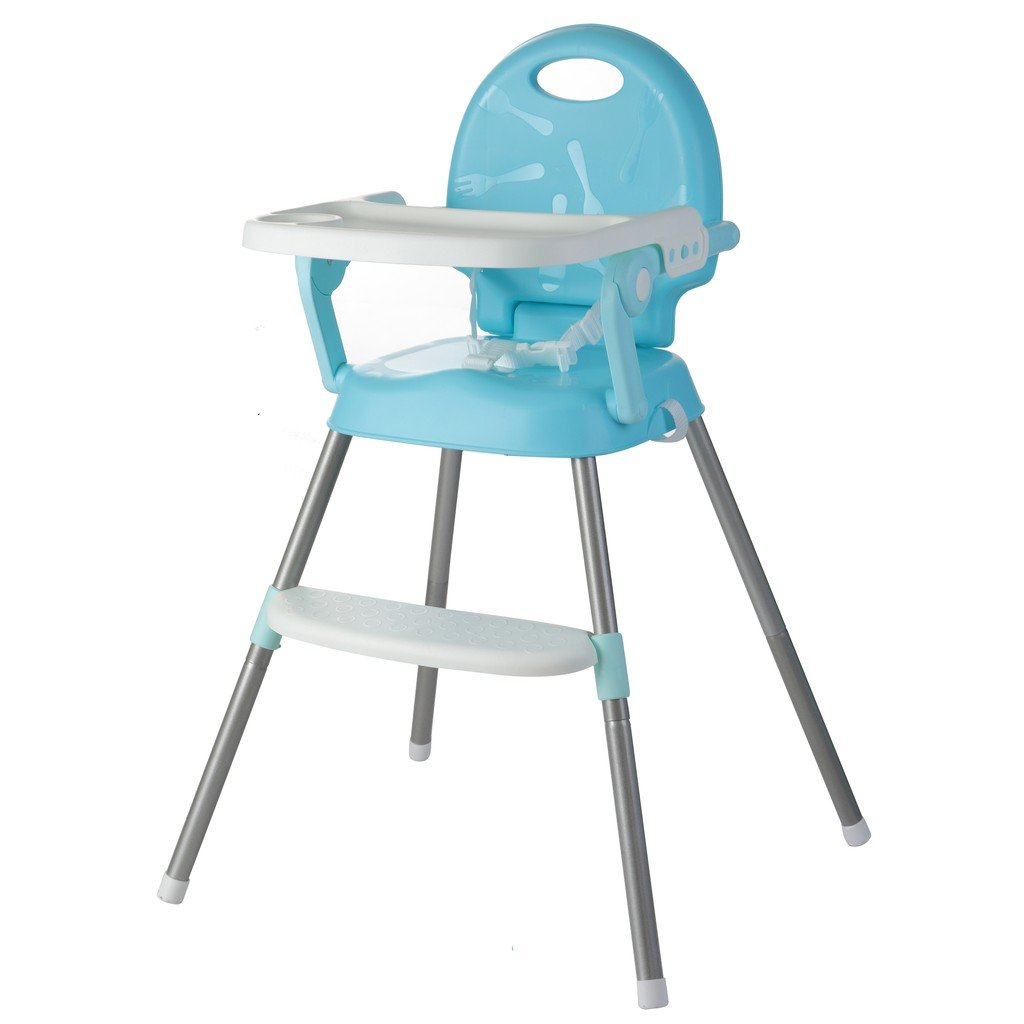 3-in-1 Luxury and multifunction baby high chair - Little Angel - Blue
