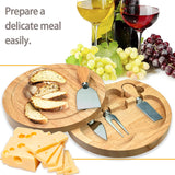 Cheese Cutter Set 5 Piece with Wooden Board