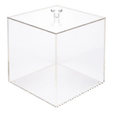 "Clear Acrylic Medium Candy Container - Display Box - 6"" x 6"" x 6"""