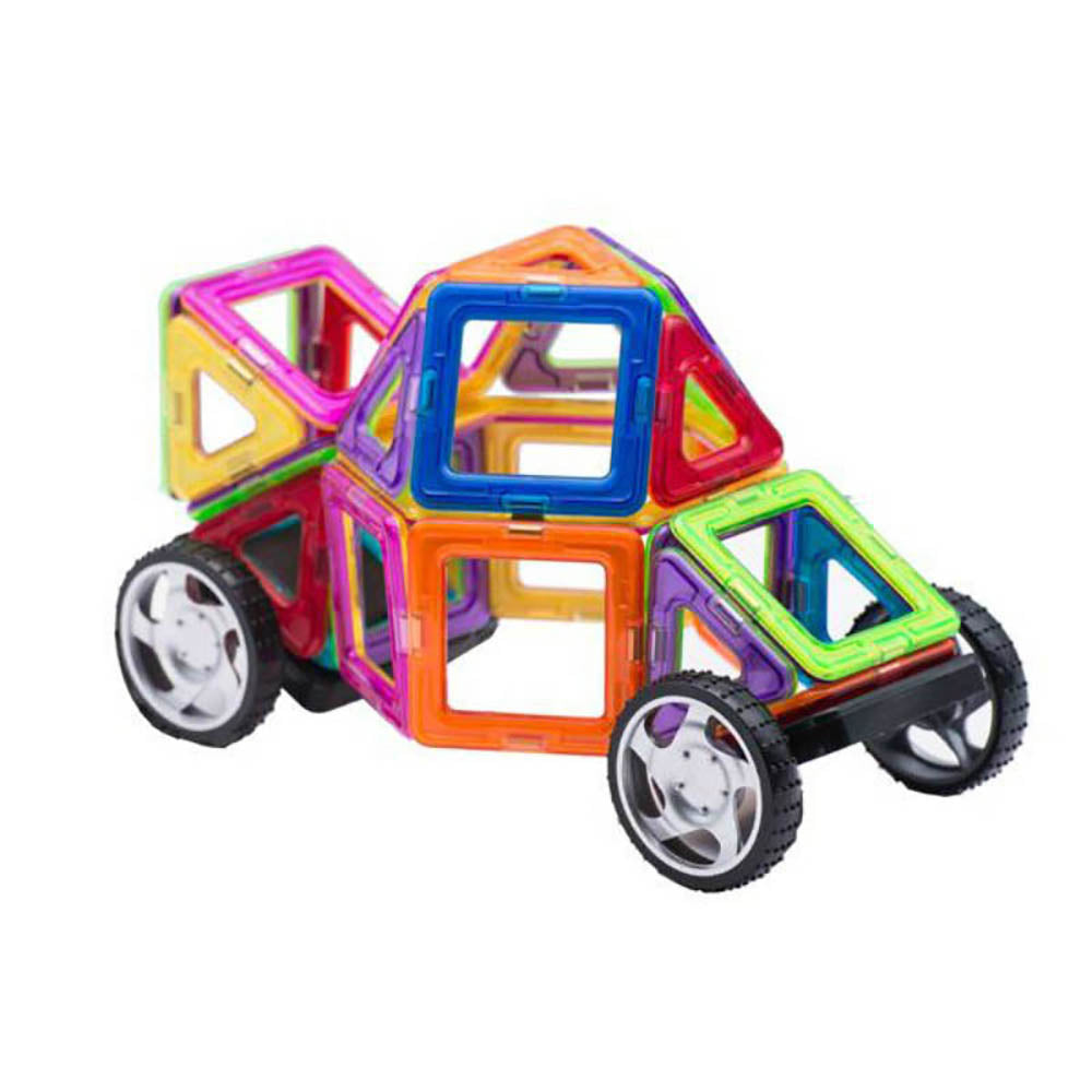 Little Angel - Kids Toys Magnetic Building Vehicle 36pcs Set