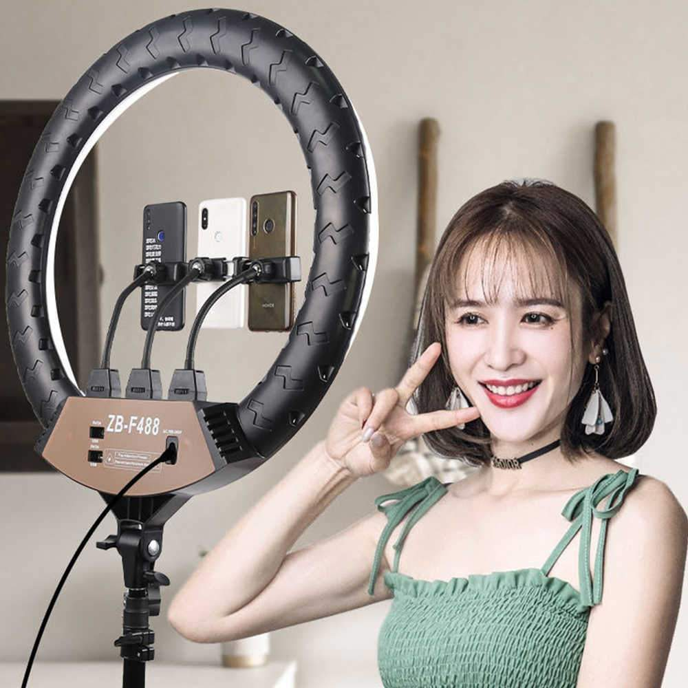 22 inch Video Ring Light For Youtube Live Streaming ZB-F488