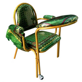 Muslim Prayer Chair Stackable in Green