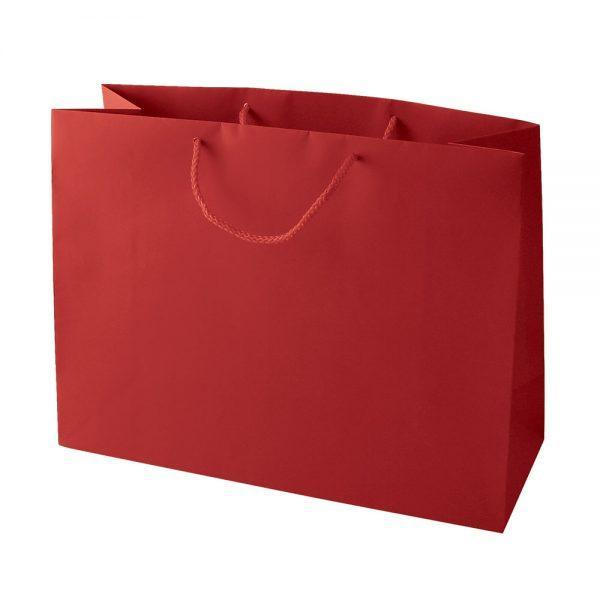 Heavy  230gsm Paper Bag Perfect for Kid's Birthdays, (10 Piece Pack) - Red