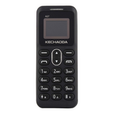 A27 Keypad Dual Sim Mini Mobile Phone with External Memory Slot Black - Kechaoda