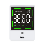 F105 Automatic Sensing Wall Thermometer for Schools and Public Places