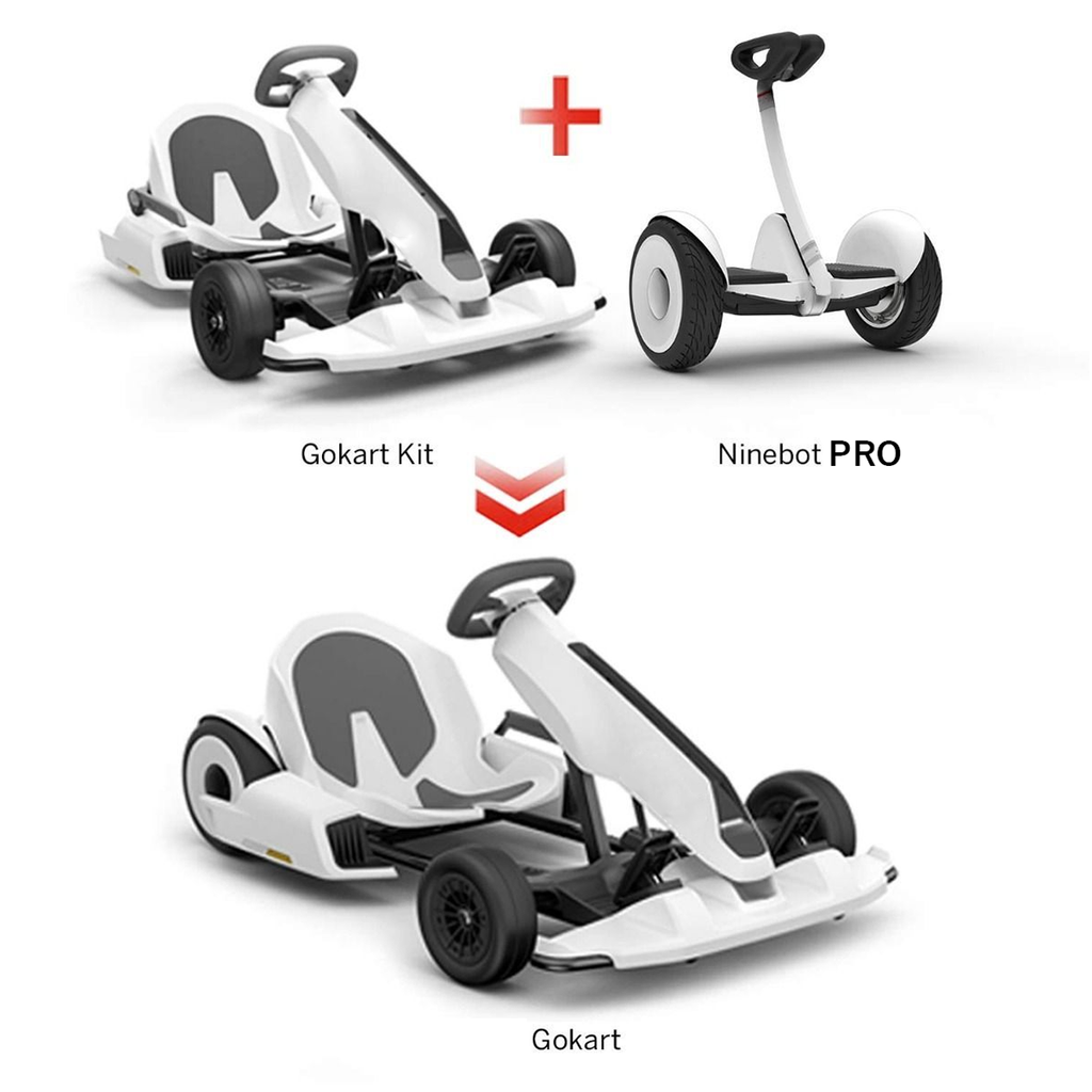 NineBot Mini Pro Scooter - Segway + Generic Electric Go Kart for Adult and Kids