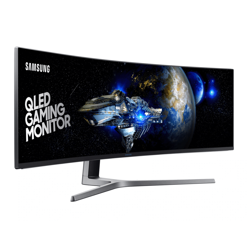 Samsung 49 Inch QLED Gaming Monitor with Super Ultra-Wide Screen - LC49HG90DMM