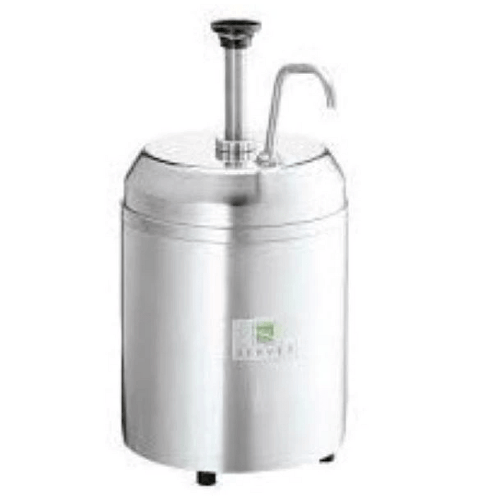Server insulated dispenser combo,Stainless steel jar & (2) ice packs 2.8L