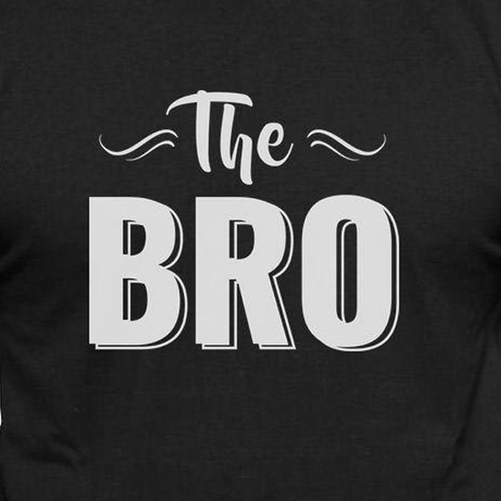The Bro  - Casual 160Gsm Round Neck T Shirts
