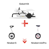 GoKart Kit For Xiaomi Ninebot Mini N0.9 Balance Scooter OR  ninebot Mini PRO Balance  - Ninebot  Scooter -