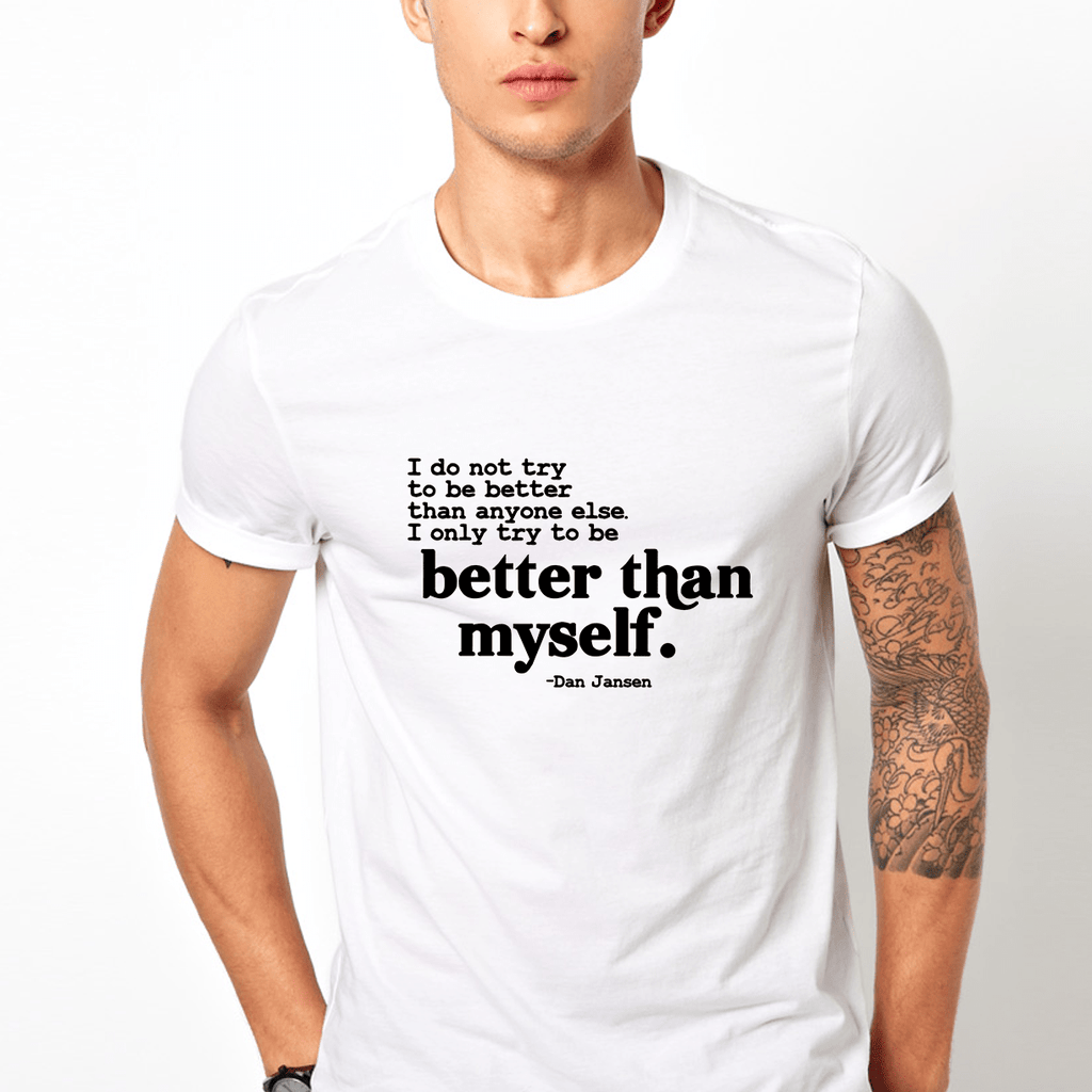Better then myself - Casual 160Gsm Round Neck T Shirts