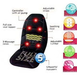 Robotic Cushion Massage  Full Size Seat Topper with Heat